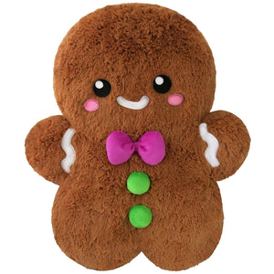 "Squishable Comfort Food Gingerbread Man-7"" - Freedom Day Sales"