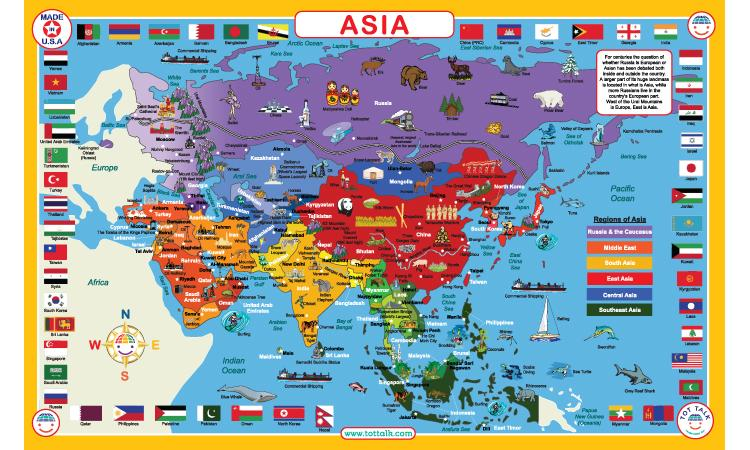 Tot Talk Asia PlaceMat - Freedom Day Sales