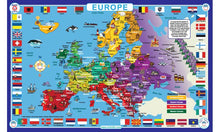 Load image into Gallery viewer, Tot Talk Europe Place Mat