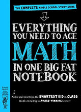 Load image into Gallery viewer, Everything You Need To Ace Math In One Big Fat Notebook