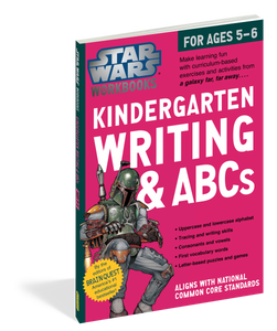 STAR WARS WORKBOOK:KINDERGARTEN WRITING & ABCS