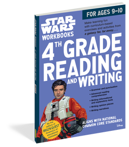 STAR WARS WORKBOOK: GRADE 4 READING & WRITING