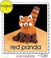 Load image into Gallery viewer, Woolpets Red Panda Wool Felting Kit