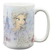 Load image into Gallery viewer, Frozen Elsa and Anna Large Ceramic Mug