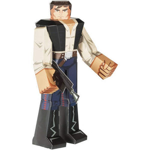 "12"" Han Solo Star Wars Papercraft Action Figure"