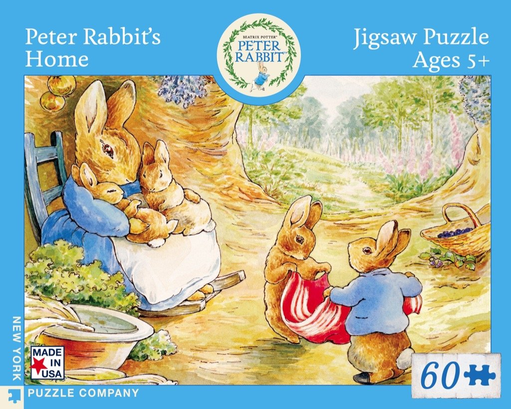 New York Puzzle Company - Peter Rabbit's Home 60 pc Puzzle
