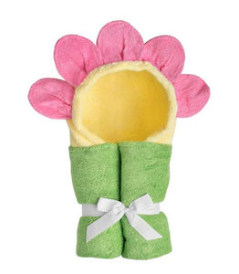 Yikes Twins - Flower Hooded Towels