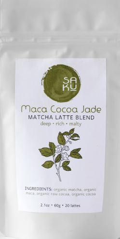 Saku Tea Maca Cocoa Jade-2.1oz Bag