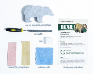 Seal Soapstone Carving Kit