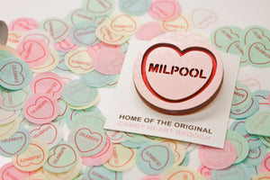 The Simpsons Candy Heart Brooch - Milpool