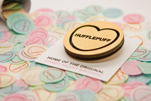 Load image into Gallery viewer, Harry Potter Candy Heart Brooch - Hufflepuff