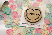 Load image into Gallery viewer, Harry Potter Candy Heart Brooch - Ravenclaw