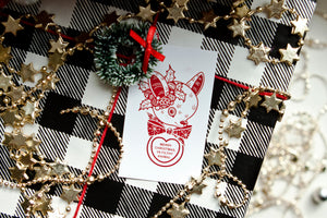 Cluster Fuss x FTLOV Collaboration - National Lampoons / Home Alone Christmas Candy Heart GIft Tags (Set of 4)