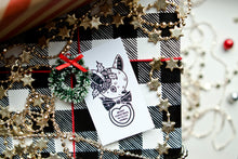 Load image into Gallery viewer, Cluster Fuss x FTLOV Collaboration - National Lampoons / Home Alone Christmas Candy Heart GIft Tags (Set of 4)