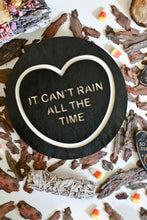 Load image into Gallery viewer, Halloween The Crow Candy Heart Wall Hanging - It Can't Rain All The Time