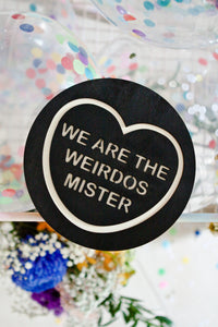 The Craft Candy Heart Wall Hanging - We Are The Weirdos Mister