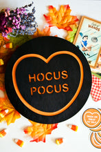 Load image into Gallery viewer, Halloween Candy Heart Wall Hanging - Hocus Pocus