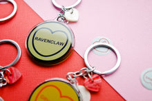 Load image into Gallery viewer, Harry Potter Candy Heart Keyring/Keychain - Ravenclaw