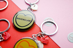 Harry Potter Candy Heart Keyring/Keychain - Ravenclaw
