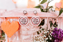 Load image into Gallery viewer, Beyonce Candy Heart Statement Earrings - I Woke Up Like This
