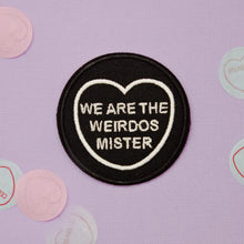 Load image into Gallery viewer, The Craft Candy Heart Patch - We Are The Weirdos Mister