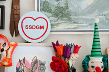 Load image into Gallery viewer, My Favorite Murder Candy Heart Wall Hanging - SSDGM