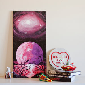 Supernova Spray Art - Planet Canvas #6