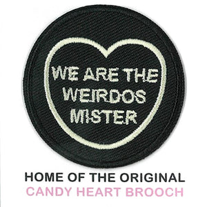 The Craft Candy Heart Patch - We Are The Weirdos Mister
