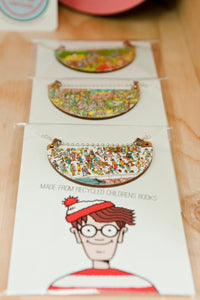 Where's Wally Dome Necklace