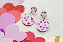 Load image into Gallery viewer, FTLOV X PJ COLLABORATION Candy Heart Statement Earrings Range