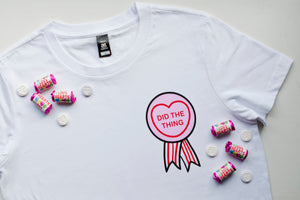 Did The Thing Candy Heart Merit T-Shirt