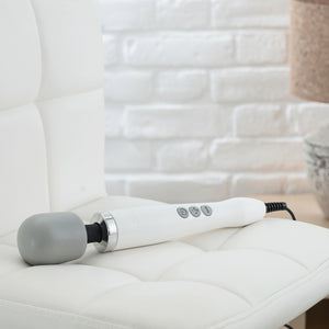White Doxy magic wand massager vibrator sex toy