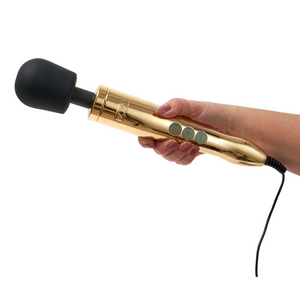 Luxury gold wand massager Doxy Die Cast sex toy