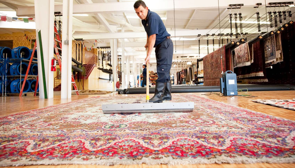 The Process of Oriental Rug Cleaning