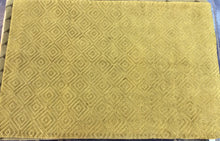 Load image into Gallery viewer, Contemporary 6 x 9 Gold Discount Rug #50640