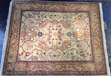Load image into Gallery viewer, Traditional 8 x 10 Blue, Brown Rug #50701