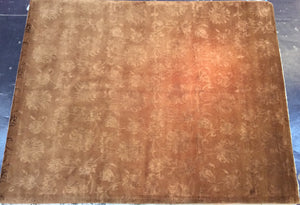Contemporary 8 x 10 Gold Discount Rug #70676