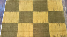 Load image into Gallery viewer, Contemporary 6 x 9 Gold, Green Discount Rug #51425