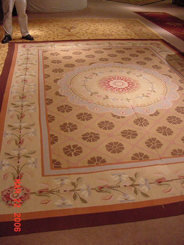 Tapestry 10 x 14 Brown Rug #1350