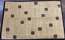 Load image into Gallery viewer, Contemporary 6 x 9 Beige Rug #50932