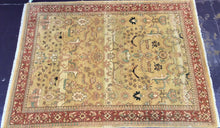 Load image into Gallery viewer, 9 x 12 India Oriental Beige Red #7720