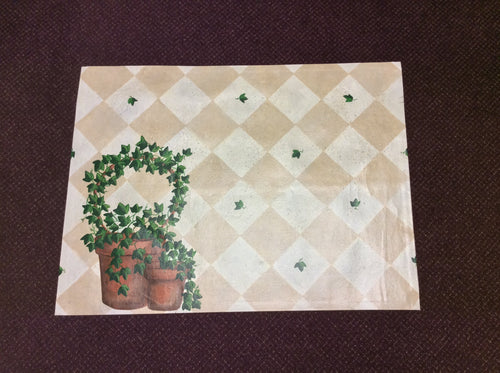 3 x 4 India Contemporary Ivory Green #17429