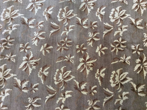 Contemporary 8 x 8 Brown Rug #11807