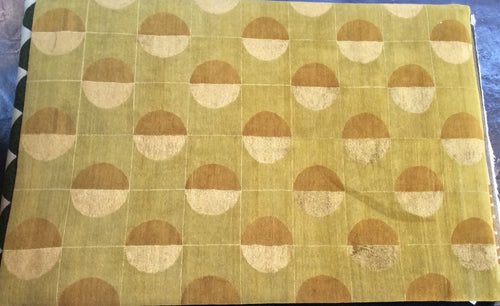 Contemporary 6 x 9 Gold Discount Rug #50801