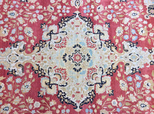 Load image into Gallery viewer, Traditional 8 x 10 Red, Beige Rug #53001