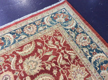 Load image into Gallery viewer, Oriental 9 x 12 Red Rug #52793
