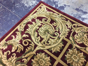 Traditional 8 x 10 Brown, Red Rug #50725
