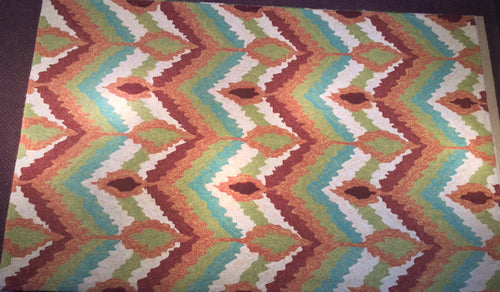 Contemporary 5 x 8 Multi-Color Rug #65703