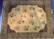 Load image into Gallery viewer, Traditional 8 x 10 Black Rug #13892
