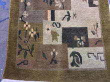 Load image into Gallery viewer, Contemporary 3 x 10 Brown Discount Rug #22566